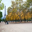 Stock Photo: Autumn in Paris