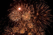 Magnificent firework display — Stock Photo