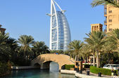 Burj Al Arab in Dubai, as seen on January 12, 2012 — Photo