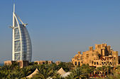 Burj Al Arab in Dubai, as seen on January 12, 2012 — Stock fotografie