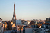 Sunset in Paris — Stock Photo