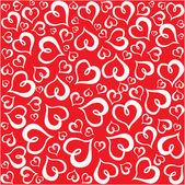 Valentine srdce. — Stock vektor