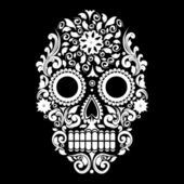 Pattern skull — Vector de stock