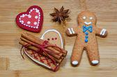 Gingerbread man — Zdjęcie stockowe