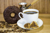 Koffie set 10 — Stockfoto
