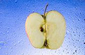 Manzana en rodajas — Foto de Stock