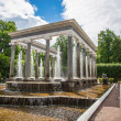 Historical fountain in Russia — Stock Photo