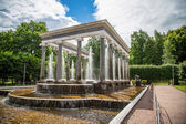 Historical fountain in Russia — Stock Photo