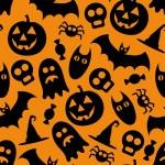 Halloween pattern — Stock Vector