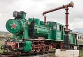 Velha locomotiva a vapor — Foto Stock