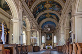 Church St.Stanislas, Kremenets, Ukraine — Stock Photo
