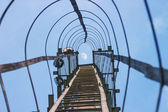 Ladder up to the moon — Stock Photo