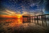 Sunrise Burst — Stock Photo
