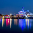 Постер, плакат: Danga Cruise in Blue Hour