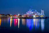 Danga Cruise in Blue Hour — Stock Photo