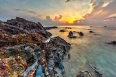 The Rock at Sunrise — Stock Photo