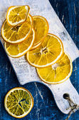 Dried orange slices — Stock Photo