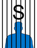Prisoner cost — Stock Photo
