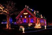 Christmas illumination — Stock Photo