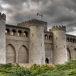 Aljaferia castle, Zaragoza — Stock Photo #23216922