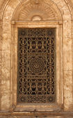 Window of Cairo Mosque — Stock Photo