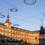 Plaza Mayor of Madrid — Stock Photo