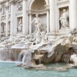 Baroque Fontana di Trevi, Rome — Stock Photo