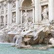 baroque fontana di trevi, rome — Photo