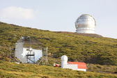 Astronomical observatory Roque de los Muchachos — Stock Photo