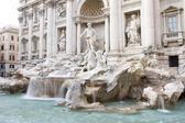 Baroque Fontana di Trevi, Rome — Stock Photo