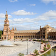Spain's square, Seville — Stock fotografie