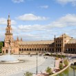 Spain's square, Seville — Stock Photo