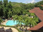 Tropiska resort i borneo — Stockfoto