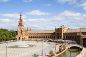 Spain's square, Seville — Foto de Stock