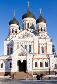 Catedral de alexander nevsky, tallin — Foto de Stock