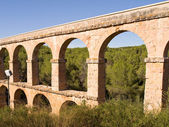 Roman aqueduct of Tarragona — Stock Photo