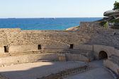 Roman amphitheater of Tarragona, Spain — Stock Photo
