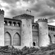 Aljaferia castle, Zaragoza — Stock Photo #23322006