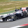 Pastor Maldonado - Williams FW35 — Stock Photo