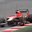 Постер, плакат: Max Chilton Marussia MR02