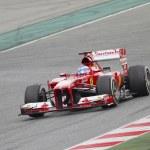Постер, плакат: Fernando Alonso Ferrari F138