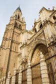 托莱多大教堂 — 图库照片