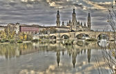 El Pilar basilica, Zaragoza — Stock Photo