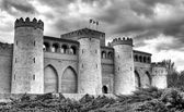 Aljaferia castle, Zaragoza — Stock Photo