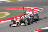 Paul Di Resta - Force India VJM06 — Stock Photo