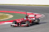 Fernando Alonso - Ferrari F138 — Stock Photo