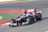 Pastor Maldonado - Williams FW35 — Stock Photo