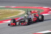 Sergio Checo Perez - McLaren MP4-28 — Stock Photo