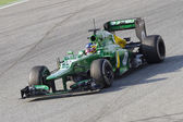 Charles Pic - Caterham CT03 — Stockfoto