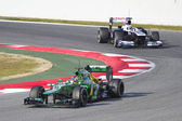 Charles Pic - Caterham CT03 — Stock Photo